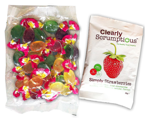 confectionery pillow pack packaging