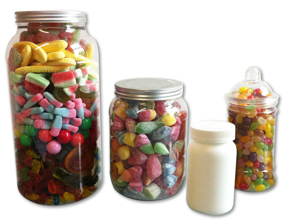 Confectionery jar packaging