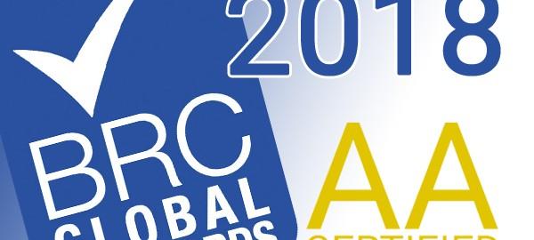 BRC Audit 2018